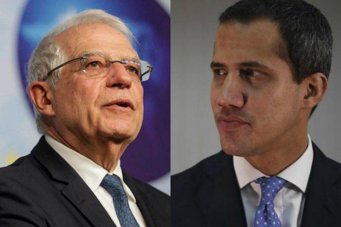 Josep Borrell se prepara para reunirse con Juan Guaidó en Bruselas