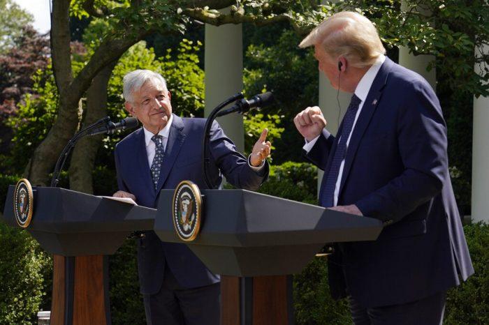 Estas son las críticas de la izquierda contra López Obrador tras encuentro con Trump