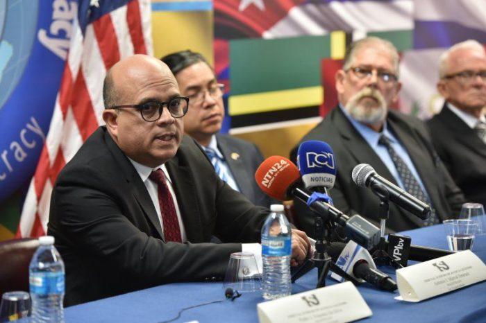 """La R2P fue solicitada """"en un momento importante y oportuno"""", dice el Presidente del TSJ en el exilio"""