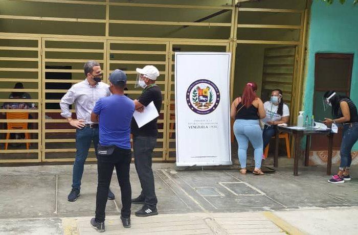 Así es la activación de la embajada legítima de Venezuela en Perú