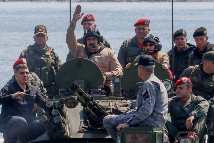 Sin drones, ejército chavista va desarmado a una guerra moderna