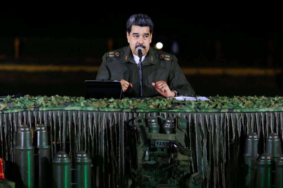 Maduro confiesa que China, Rusia, Irán y Cuba manejan la defensa militar del régimen venezolano