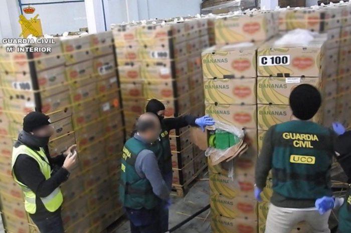 Desmantelan red multinacional que introducía cocaína de carteles suramericanos en Europa
