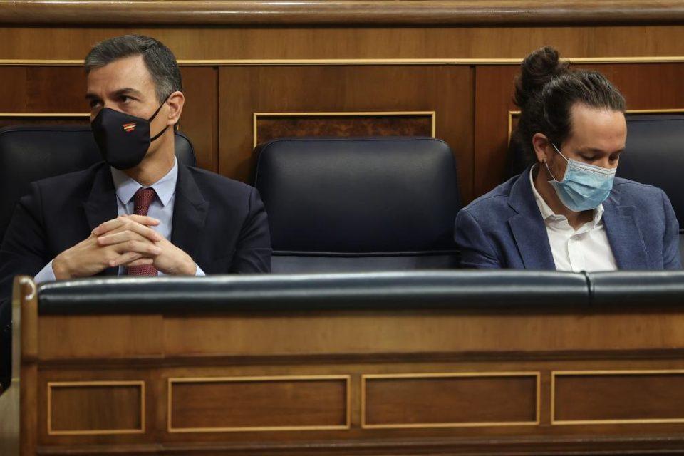 Crisis interna abre grietas en la coalición socialista que gobierna España