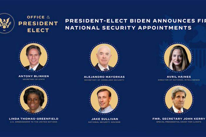 El perfil del equipo de Seguridad Nacional de Biden busca distinguirse del estilo Obama