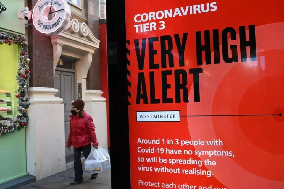 uk y la nueva cepa del coronavirus - primer informe
