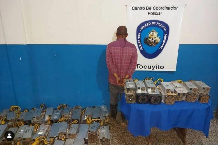 Perseguir mineros de Bitcoin es prioridad para la policía chavista