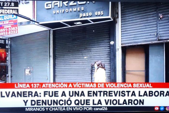 Conozca el caso de la joven venezolana violada en Argentina por su jefe en el primer día de trabajo
