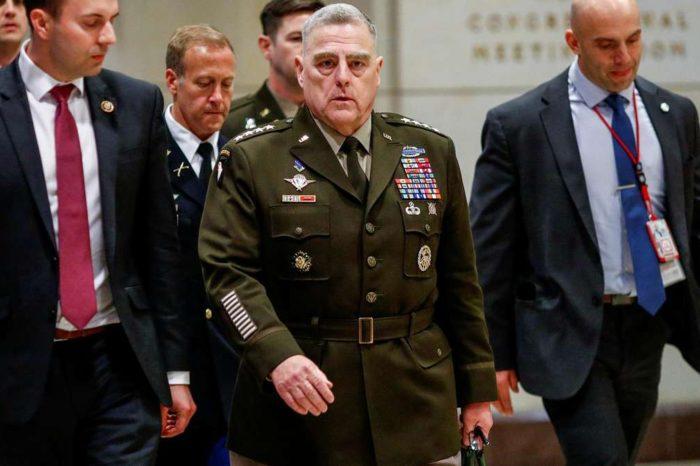 Estado Mayor Conjunto estadounidense condena 'sedición e insurrección' en el Capitolio y reconoce a Biden