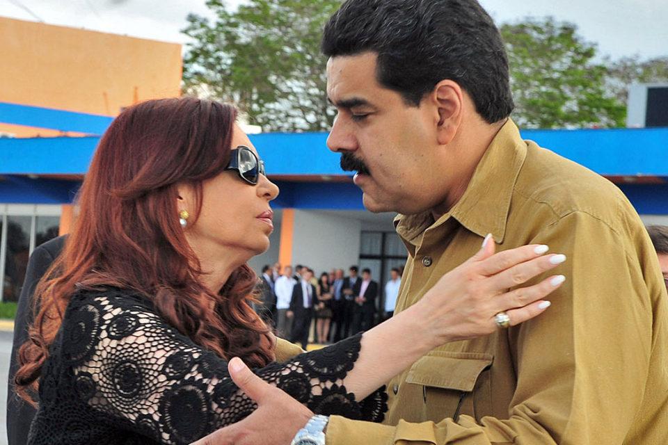 Con su silencio Maduro protege a los corruptos kirchneristas