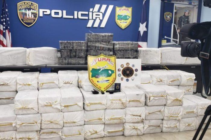 Capturan millonario alijo de cocaína venezolana en Puerto Rico