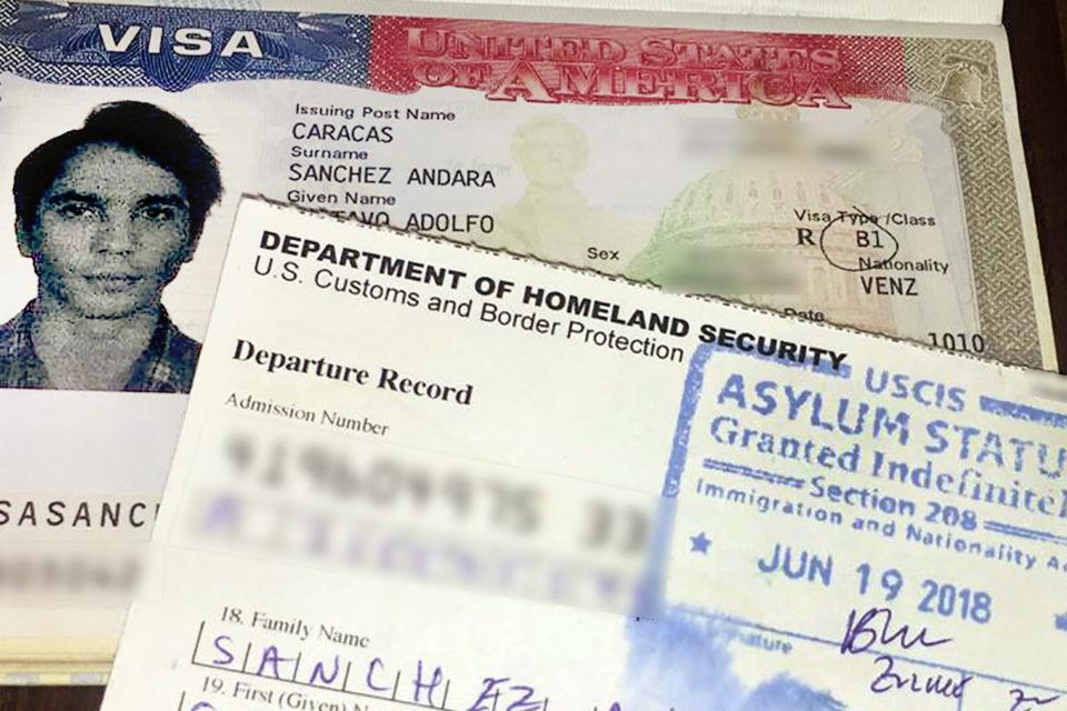 asilo en los EEUU - primer informe