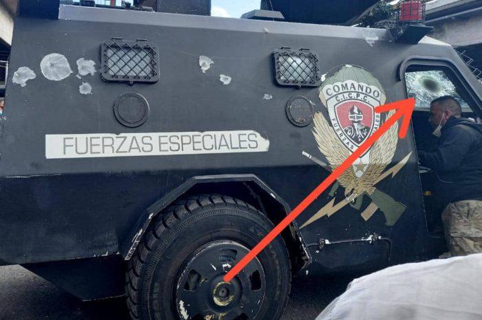 Poder de fuego de las megabandas criminales de Caracas vuelve a superar a la policía (VIDEO)