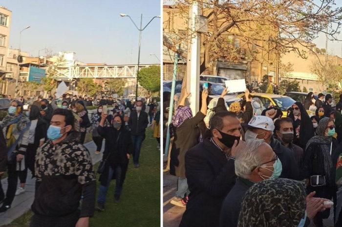La rebelión iraní contra el dominio de China llega a las calles de Teherán