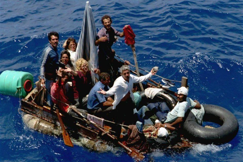 Balseros cubanos intentando llegar a EEUU se multiplican en 2021