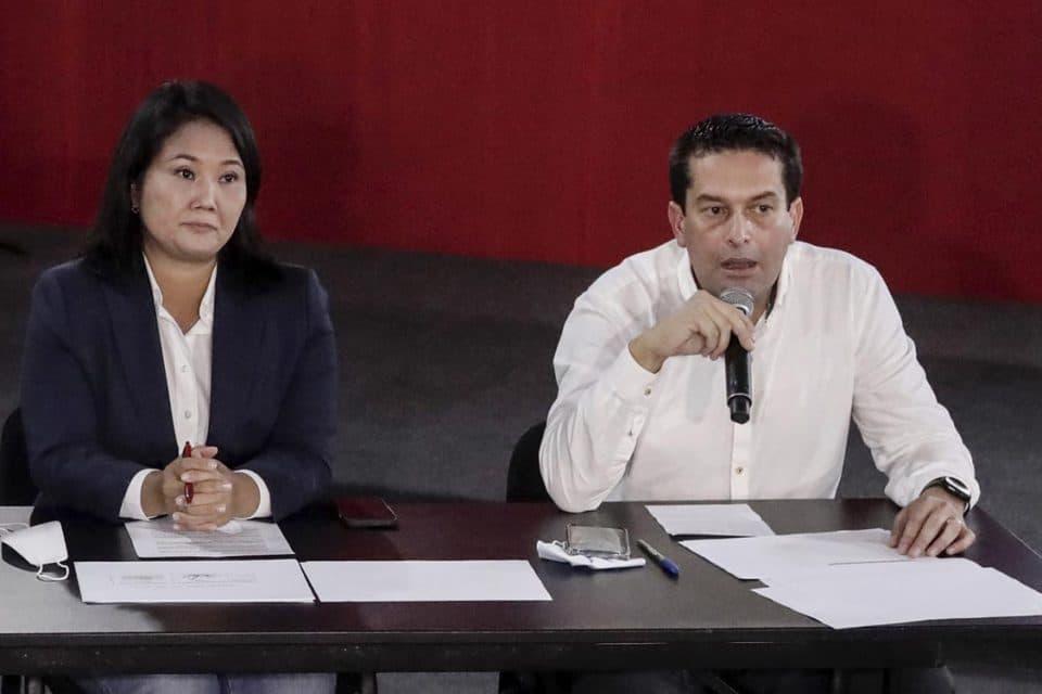Elecciones en Perú: Piden arrestar a Keiko Fujimori