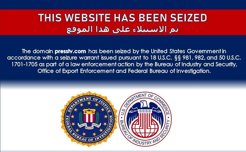 """EEUU incauta páginas web para combatir las """"fake news"""" iraníes"""