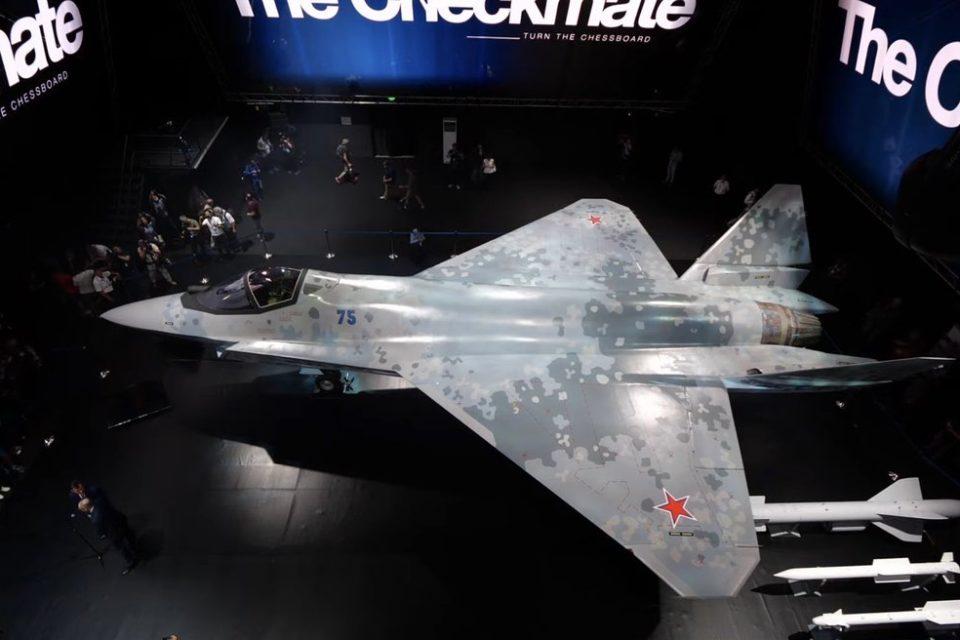 El nuevo avión ruso que quiere competir con el F-35 de EEUU