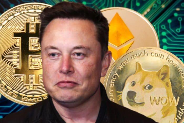 Elon Musk revela su portafolio de criptomonedas