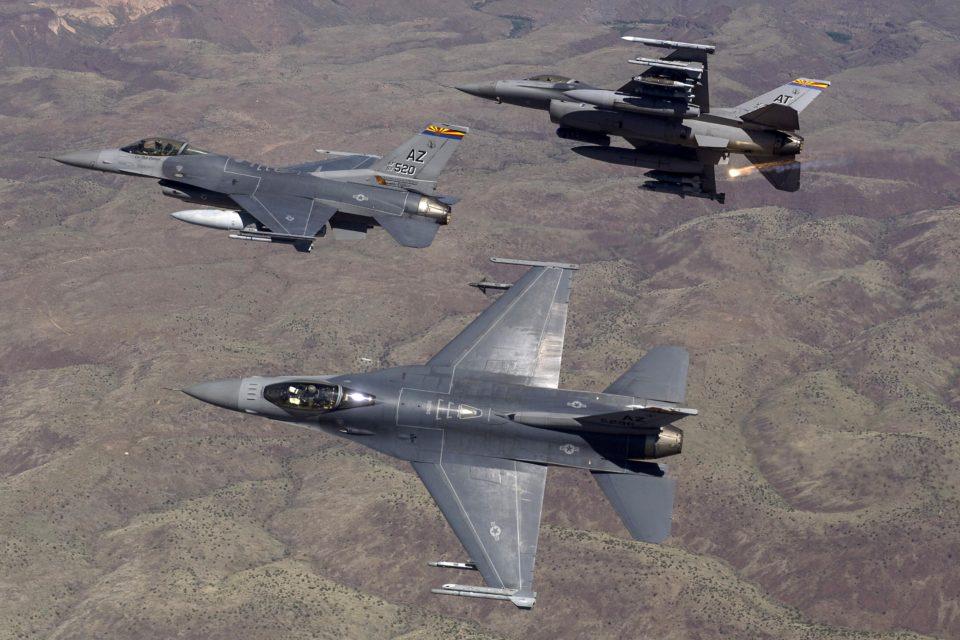 Colombia pone a prueba F-16 de EEUU en ejercicio militar Relámpago VI