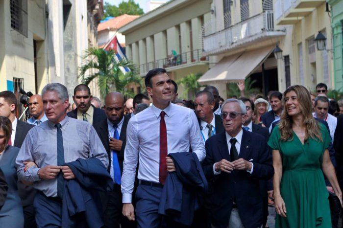 La petición de España a EEUU a favor de la dictadura castrista