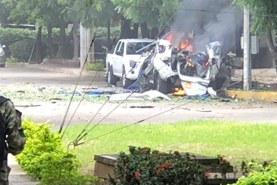 Atentado con carro bomba en Cúcuta tiene más nexos con Venezuela