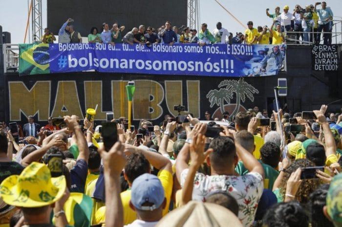 Así es la guerra de Bolsonaro contra el Tribunal Supremo de Brasil