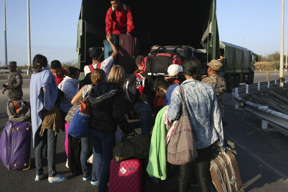 Los récords de la inmigración irregular venezolana en Chile